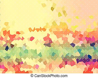 Shine bright and sweet color of free form background