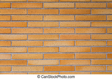 Red patten brick wall background and texture