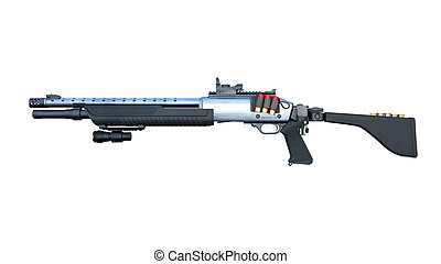 Assault rifle - Image of an assault rifle
