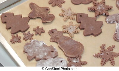 Gingerbread reindeer cookies Full HD