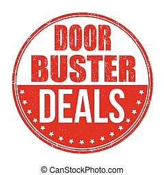 Doorbuster deals stamp