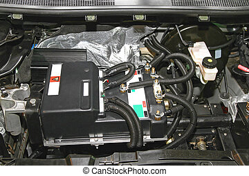 Electric Car Electronics - Under the Hood of Electric Car...