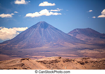 volcano licancabur near San Pedro - beautiful view on the...
