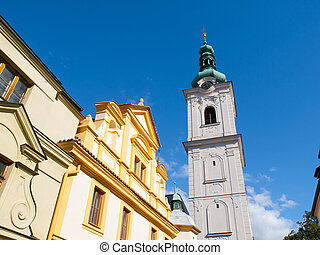 White Tower in Klatovy - White Tower former belfry in...