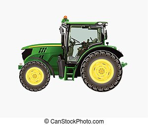 Tractor-agrimotor