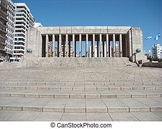 Inside Monumento a la Bandera in Rosario, Argentina - Inside...