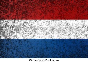 Flag of Netherland.