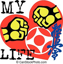 I love karate kyokushinkai