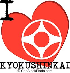 I love karate kyokushinkai