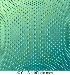 Convex texture. Dotted pattern. - Abstract textured convex...