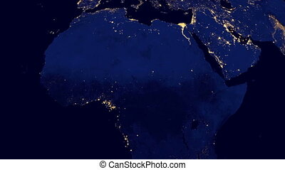 Electricity on the Earth - electricity on earth at night