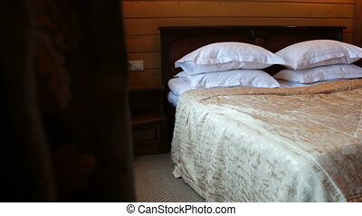 Double bedroom luxury and superior Hotel - Interior room...