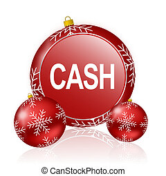 cash christmas icon