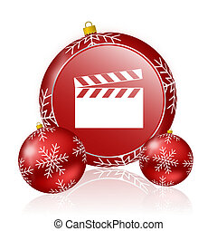 video christmas icon