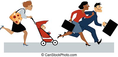 Returning from maternity leave