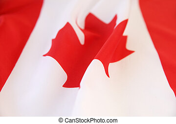 Canadian flag view