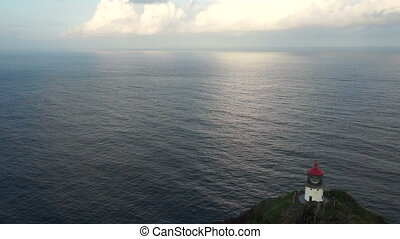 Makapuu Lighthouse Pacific Ocean Hawaii Island Oahu United...