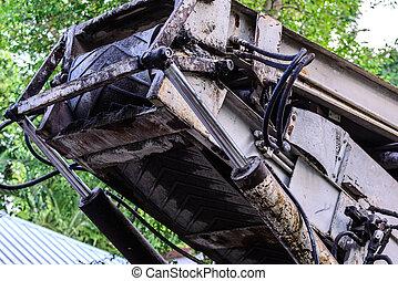 Hydrolic system of crane