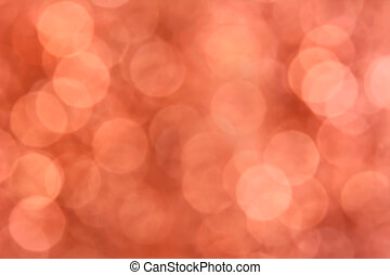 Light orange brown bokeh abstract background