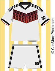 German Football Uniform