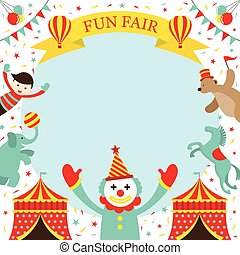 Fun Fair, Carnival, Circus, Frame - Amusement Park, Theme...