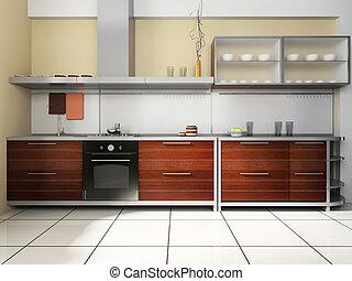 Kitchen set 일러스트 및 클립아트. 29,622 Kitchen set 저작권에 구애 ...