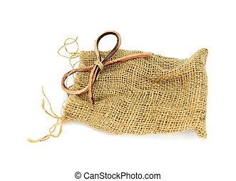 sack bag isolated on white background