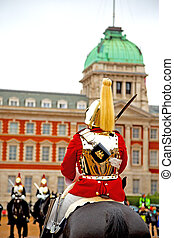in london england and cavalry for the queen - in london...