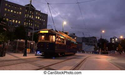 Christchurch Tramway restaurant - Christchurch Tramway tram...