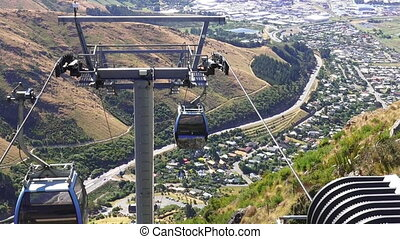Christchurch Gondola New Zealand. - Christchurch Gondola.It...