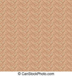 Seamless pattern wicker cherry wood color. - Seamless...