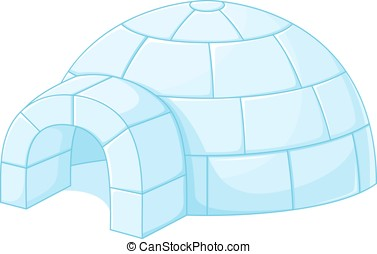 Igloo - Winter house built of snow