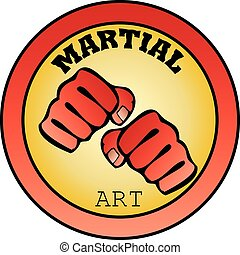 logo martial arts power fist mma - power fist MMA, KARATE,...