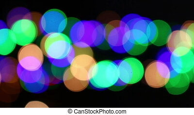 light blurry colorful background
