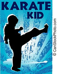 martial arts karate poster