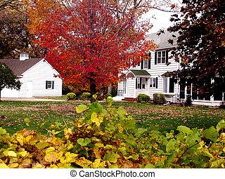 Autumn House         - Autumn in Minnesota