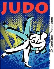 judo BJJ jiu jitsu mma poster - sambo BJJ jiu jitsu mma...