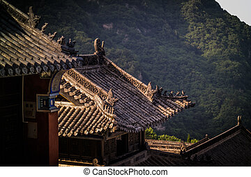 Wudangshan are daoist mountains in Hubei province, China.
