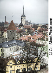 photos of Tallinn - picturesque and very beautiful HDR...