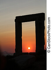 Apollo gate of Naxos - The Portara Gate of the Apollo Temple...