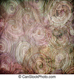 patrón, concepto,  natural, tela, teñido