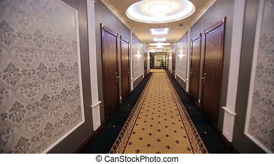 Interior Corridor Hotel - view of corridor in a hotel