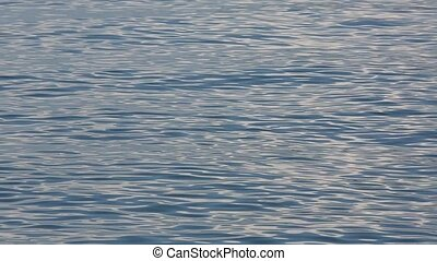 sea water surface - Abstract blue sea ripple texture...
