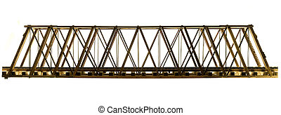 wooden model truss bridge - handmade wooden model truss...