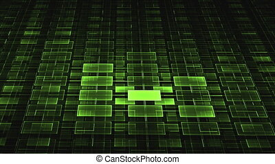 Green geometrical horizon - geometrical horizon with light...