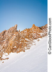 Snowbird 6 - Cliffs worth jumping off of on a winter day