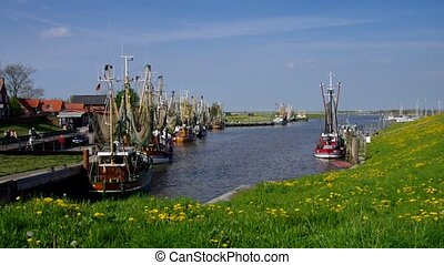 Greetsiel harbour