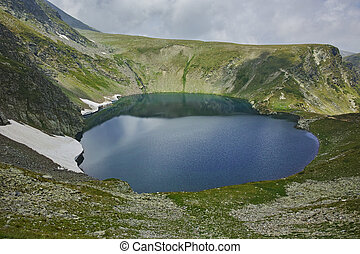 The Seven Rila Lakes, Bulgaria - Amazing panorama of The Eye...