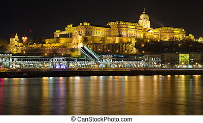Castle in Budapest, Hungary