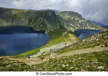 The Seven Rila Lakes, Bulgaria - Amazing landscape of The...